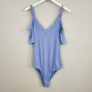 TIMING RIBBED RIBBED BODYSUIT Nwt